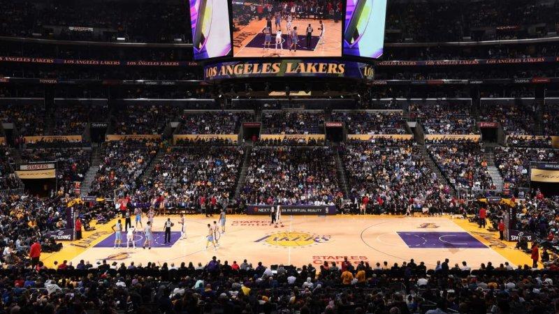 Jogo NBA do Los Angeles Lakers